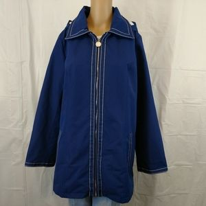 Dennis by Dennis Basso jacket size medium new